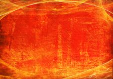 красный цвет grunge 2 кадров Стоковые Фотографии RF