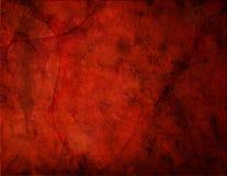 красный цвет grunge Стоковая Фотография RF