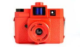 красный цвет holga Стоковые Фотографии RF
