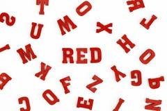 Красный цвет III Стоковая Фотография RF