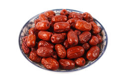 красный цвет jujube Стоковые Изображения RF