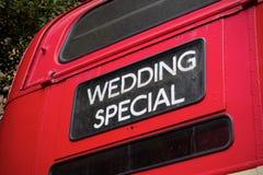 красный цвет london шины Стоковые Фото