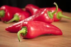 красный цвет peper Стоковое Фото