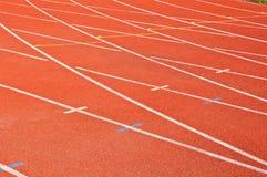 красный цвет racecourse предпосылки Стоковые Изображения RF
