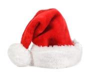 красный цвет santa шлема Стоковые Фотографии RF