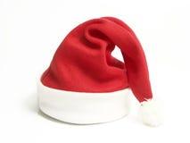 красный цвет santa шлема claus Стоковые Фото
