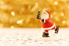 красный цвет santa claus Стоковое фото RF