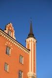 красный цвет stockholm jacobs церков Стоковое Изображение