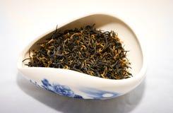 Красный чай Jin июнь Mei фарфора Стоковая Фотография RF