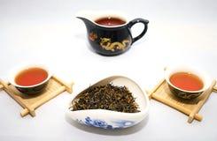 Красный чай Jin июнь Mei фарфора Стоковое Изображение RF
