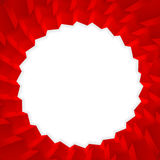 Красный шаблон кубов Cube предпосылка иллюстрация кубов 3D Стоковое Фото