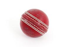 Красный шарик сверчка стоковые фотографии rf