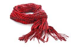 красный шарф Стоковое фото RF