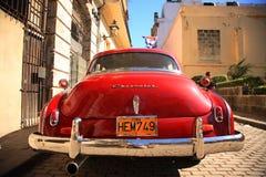 Красный Шевроле стоковое фото rf