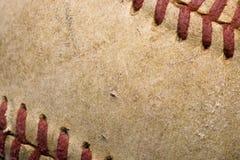 красный шить софтбола Стоковое фото RF