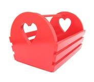 Красный шкаф кассеты Стоковые Изображения