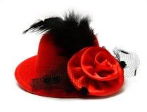 Красный шлем стоковое изображение rf