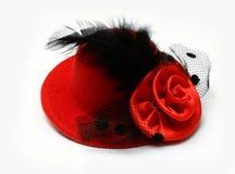 Красный шлем стоковые изображения