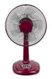 Красный электрический вентилятор Стоковые Фото