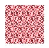 Красный этнический современный геометрический безшовный орнамент картины Стоковое фото RF