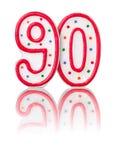 Красный 90 Стоковое Фото