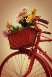 Красный bike Стоковое Изображение