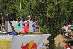 Красный Bull Flugtag 2010 Стоковая Фотография