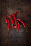 Красный chili Стоковая Фотография