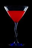 Красный Martini Стоковая Фотография RF