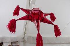 Красный Pinata стоковая фотография