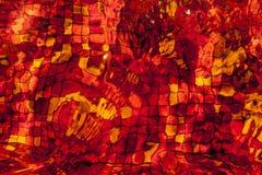 Красный refection Стоковые Изображения