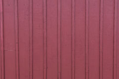 Красный siding предкрылка амбара Стоковое Изображение