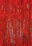 Красный siding стены амбара, вертикальный Стоковое Изображение RF