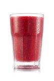Красный smoothie плодоовощ в стекле Стоковое Изображение RF