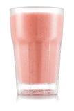 Красный smoothie плодоовощ в стекле Стоковые Изображения