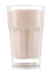 Красный smoothie плодоовощ в стекле Стоковое Изображение