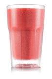 Красный smoothie плодоовощ в стекле Стоковое Фото