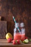 красный smoothie Стоковая Фотография RF