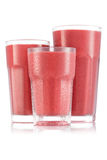Красный smoothie ftruit в размере 3 стекла Стоковые Фотографии RF