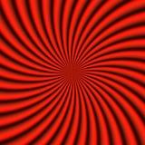 красный sunburst Стоковая Фотография