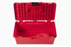 красный toolbox Стоковые Изображения