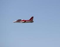 Красным самолет контролируемый радио Стоковая Фотография RF