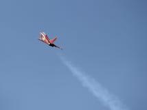 Красным самолет контролируемый радио Стоковые Фотографии RF