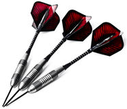 3 красных направляя стрелки Стоковые Фотографии RF