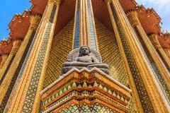 Красота виска изумрудного Будды Стоковые Фотографии RF