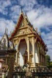 Красота виска, Таиланда и Азии Стоковое Изображение