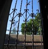 Красота вне окна стоковые изображения rf