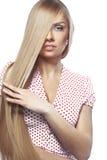 Красота волос стоковое изображение rf