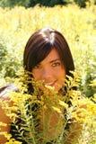 Красота в поле Стоковые Фотографии RF