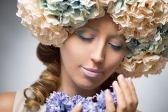 Красота в цветках Стоковые Изображения